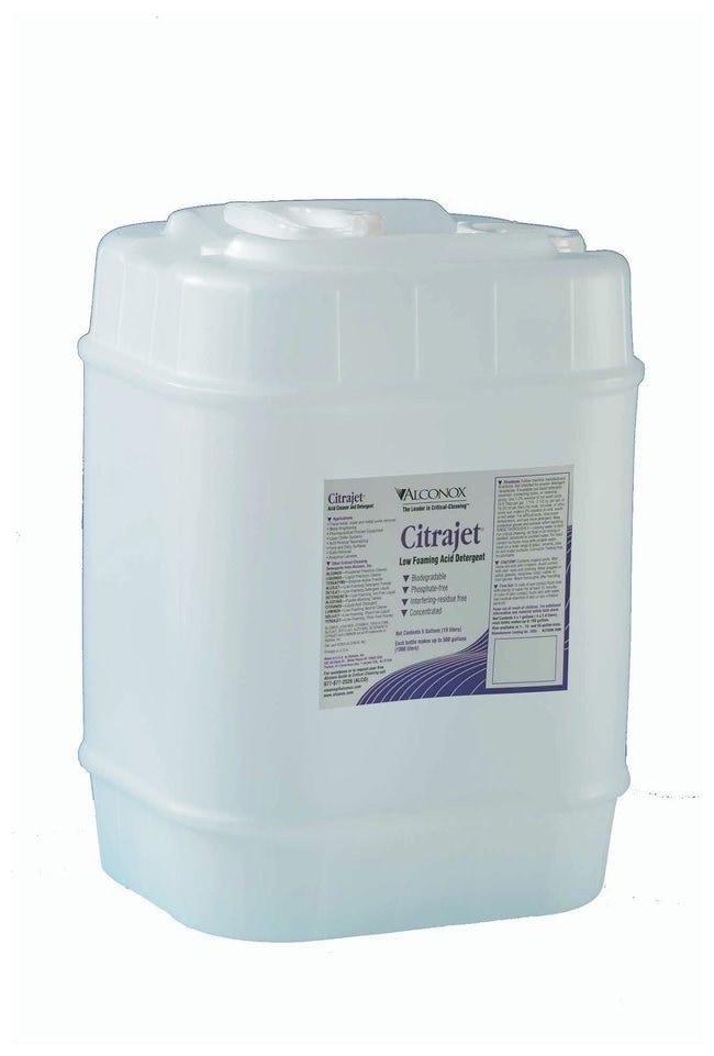 AlconoxCitrajet Low-Foaming Liquid Acid Cleaner 19L (5 gal.) Jerry can:Laboratory