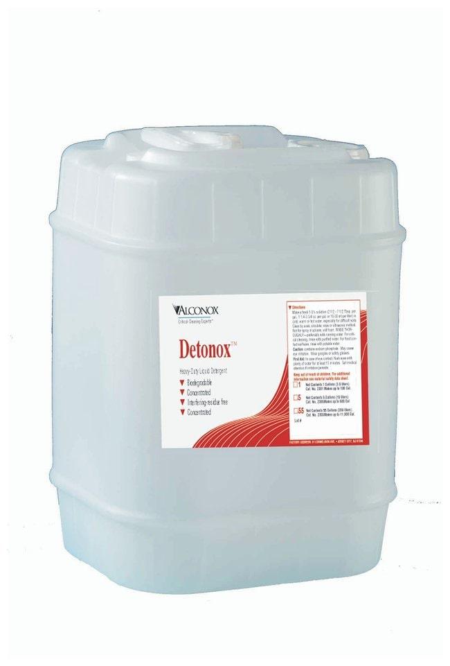 AlconoxDetonox Heavy Duty Liquid Detergent 19L (5 gal.) Pail:Laboratory