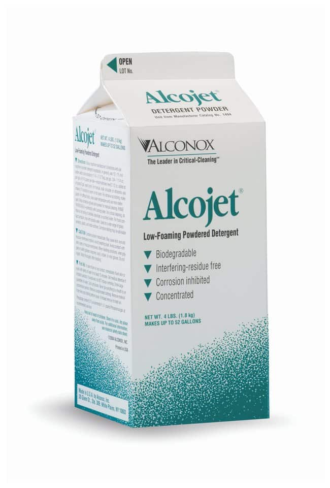 AlconoxAlcojet Low-Foaming Powdered Critical Cleaning Detergent:Laboratory
