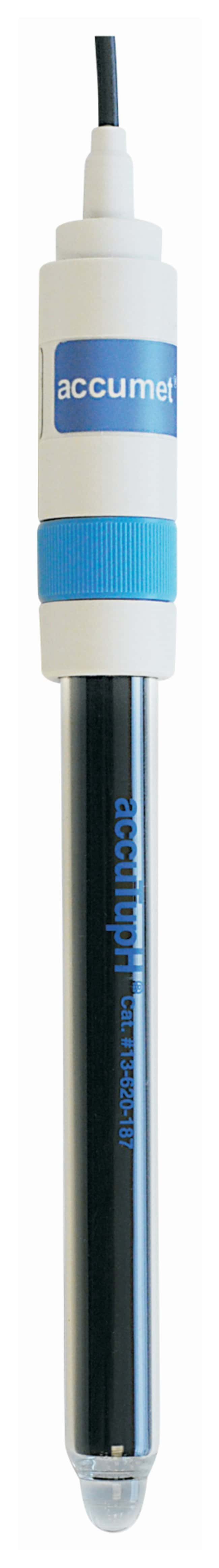 Fisherbrand accuTupH Rugged Bulb pH Indicating Electrode - Mercury - Free:Thermometers,
