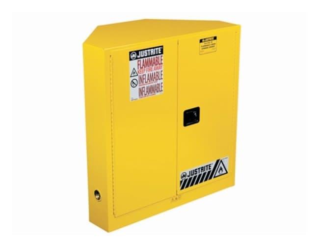 Justrite Sure-Grip EX Corner Safety Cabinets Door type: Manual; Capacity: