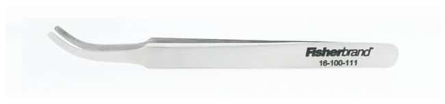 Fisherbrand™Curved Tapered Flat-Tip Forcep