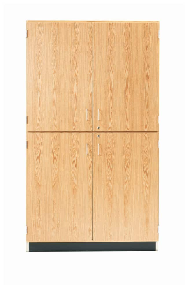 Diversified Woodcrafts Tall Storage Cabinets With Maple Doors 254cm