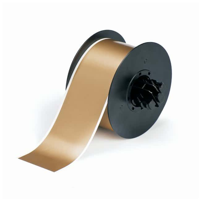 Brady™ Vinyl Tapes (B-595) for BBP31 and BBP33 Printers Size: 5.7cm x 30.4m (2.25 in. x 100 ft.); Gold Brady™ Vinyl Tapes (B-595) for BBP31 and BBP33 Printers