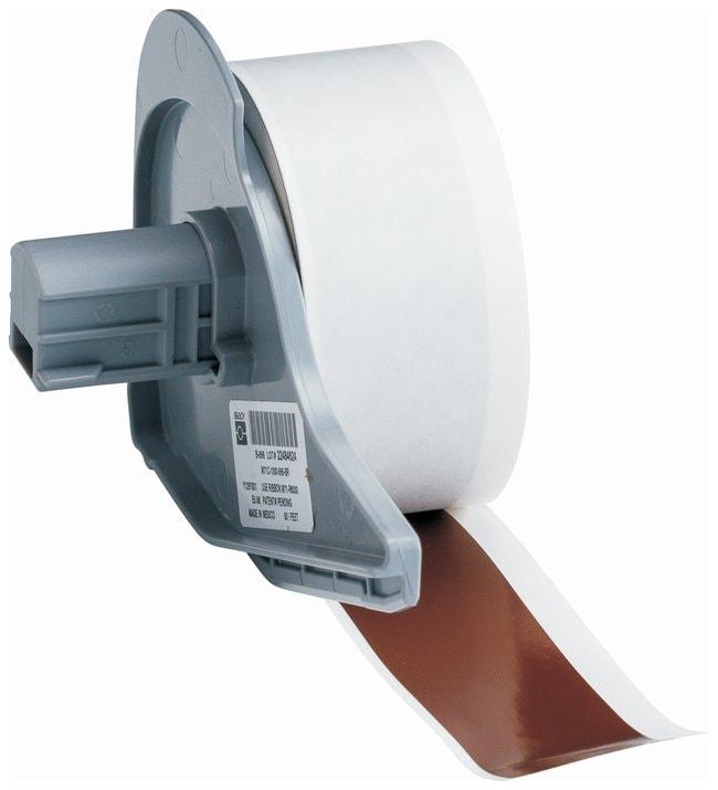 brady rouleaux en vinyle b 595 pour imprimante bmp71 brown size x 50 ft x 1. Black Bedroom Furniture Sets. Home Design Ideas