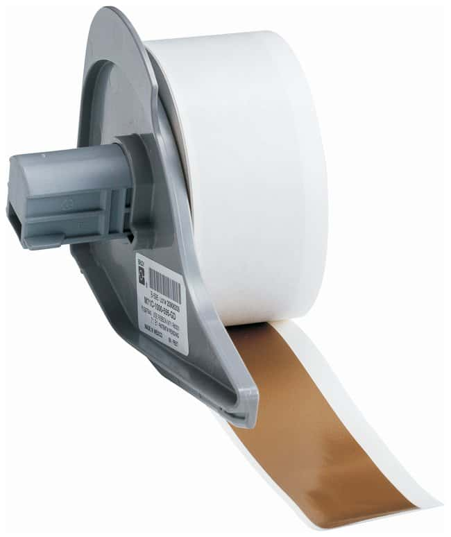 Brady™ Vinyl Tapes (B-595) for BMP71 Printer Gold; Size: 15.24m x 2.54cm (50 ft. x 1 in.) Brady™ Vinyl Tapes (B-595) for BMP71 Printer