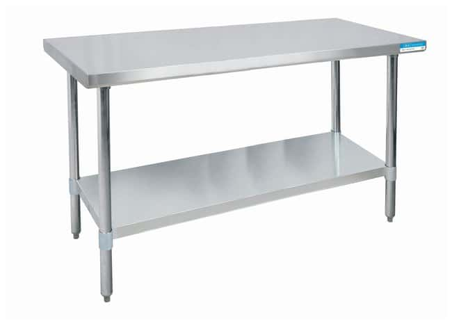 Diversified Woodcrafts Stainless-Steel Tables  76.2D x 182.8W x 89cm H:Teaching