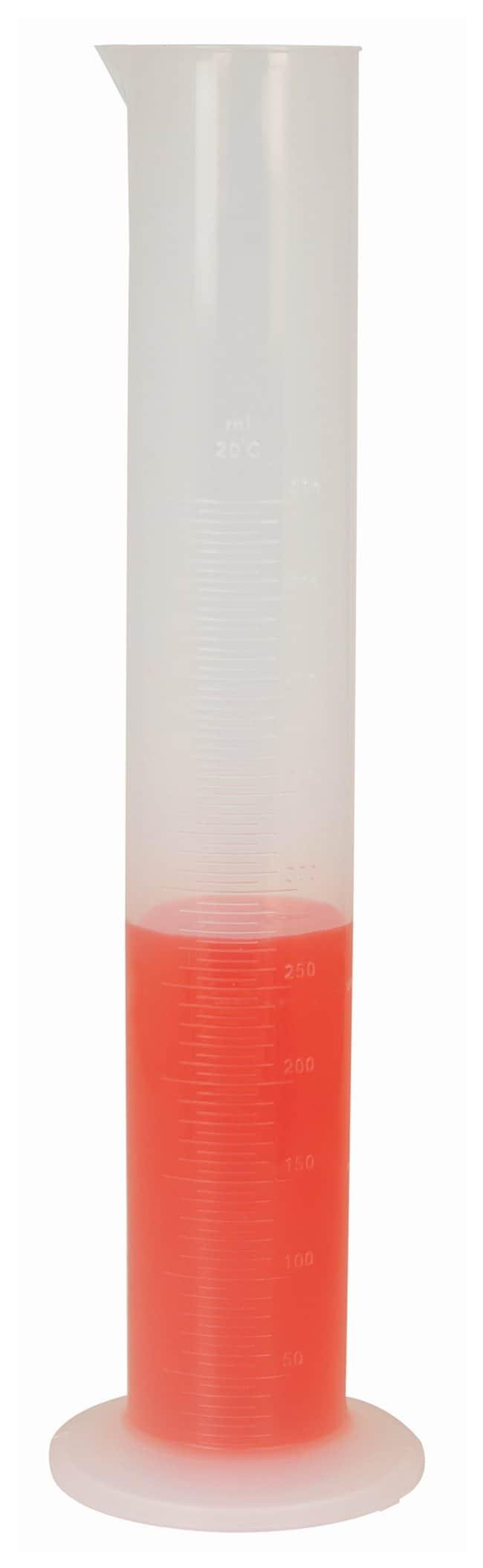 Eisco Graduated Cylinders, PP, Round Base  500mL; 1 Each:Teaching Supplies