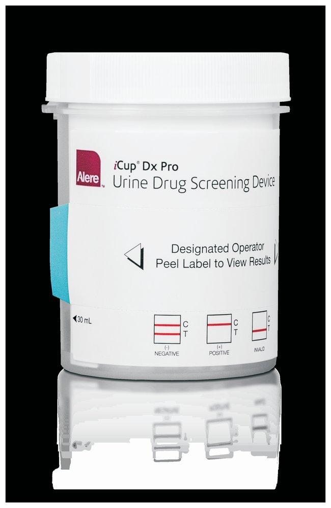 Abbott iCup™ Dx Pro Urine Drug Screening Device Detects AMP, BAR, BZO,