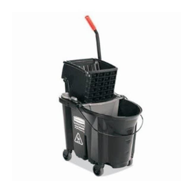 RubbermaidWaveBrake Executive Side Press Mop Buckets 75.6L x 41W x 50.2cm