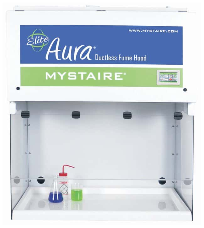 Mystaire Aura Elite Ductless Fume Hood Sash opening: 104.7cm ; 71.1D x