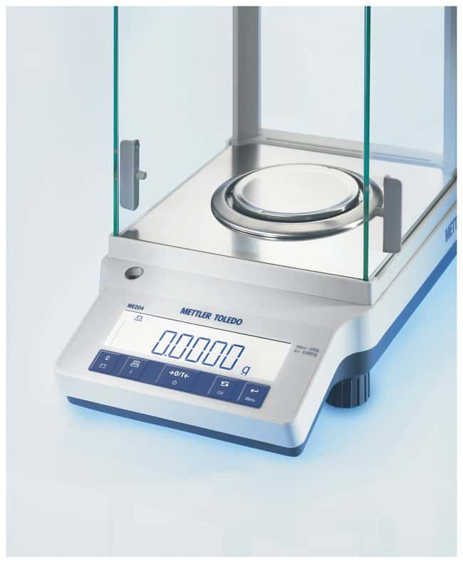 Mettler Toledo™ NewClassic ME Analytical Balances, Internal Calibration