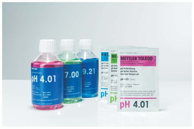 Mettler Toledo™ pH Buffer Sachets: Electrodes and Accessories pH and Electrochemistry