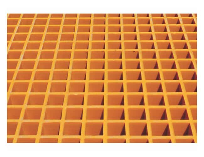 Justrite Floor Grating w/Sump Liner  For use with 2-drum/ (52 cu. ft.)