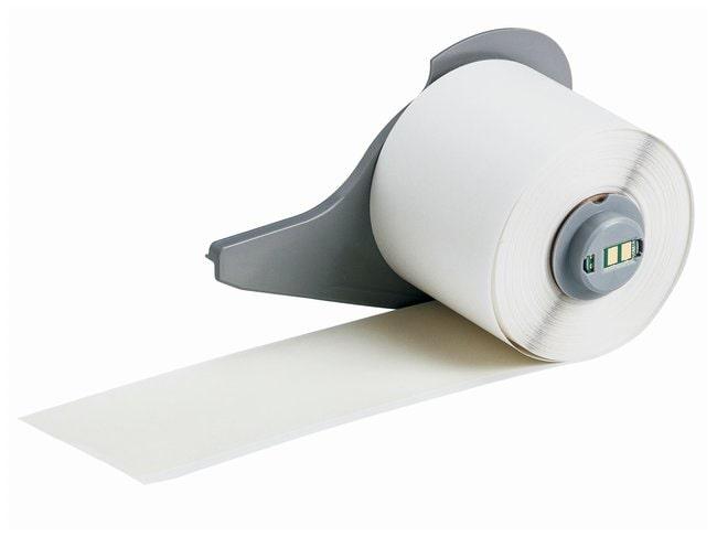 Brady™Rouleaux en vinyle (B-595) pour imprimante BMP71 - Transparent Transparent; Taille: 15,24mx5,08cm (50pix2po) Brady™Rouleaux en vinyle (B-595) pour imprimante BMP71 - Transparent