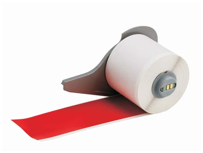 Brady™Vinyl Tapes (B-595) for BMP71 Printer - Red Red; Size: 15.24m x 5.08cm (50 ft. x 2 in.) Brady™Vinyl Tapes (B-595) for BMP71 Printer - Red