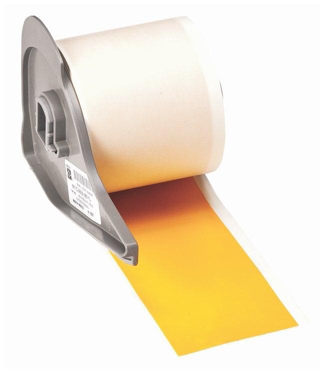 Brady™Vinyl Tapes (B-595) for BMP71 Printer - Yellow Yellow; Size: 15.24m x 5.08cm (50 ft. x 2 in.) Brady™Vinyl Tapes (B-595) for BMP71 Printer - Yellow