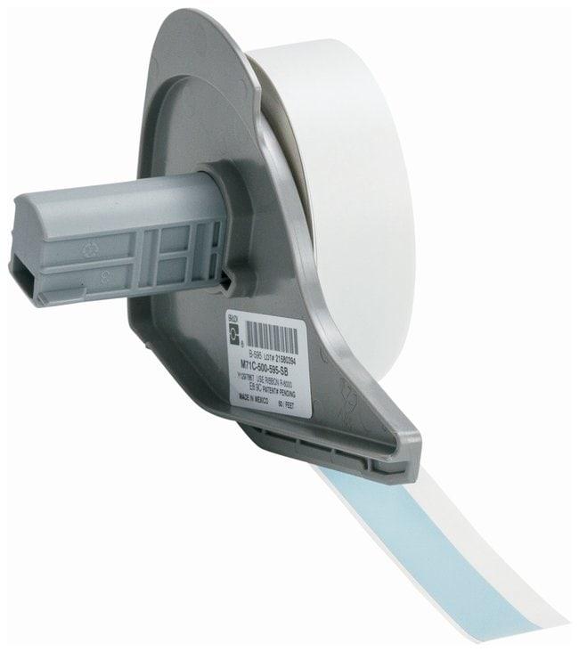 Brady™Vinyl Tapes (B-595) for BMP71 Printer - Sky Blue Sky blue; Size: 15.24m x 1.27cm (50 ft. x 0.5 in.) Brady™Vinyl Tapes (B-595) for BMP71 Printer - Sky Blue