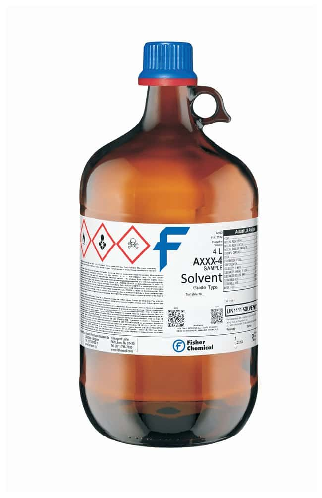 Reagent Alcohol, Fisher Chemical
