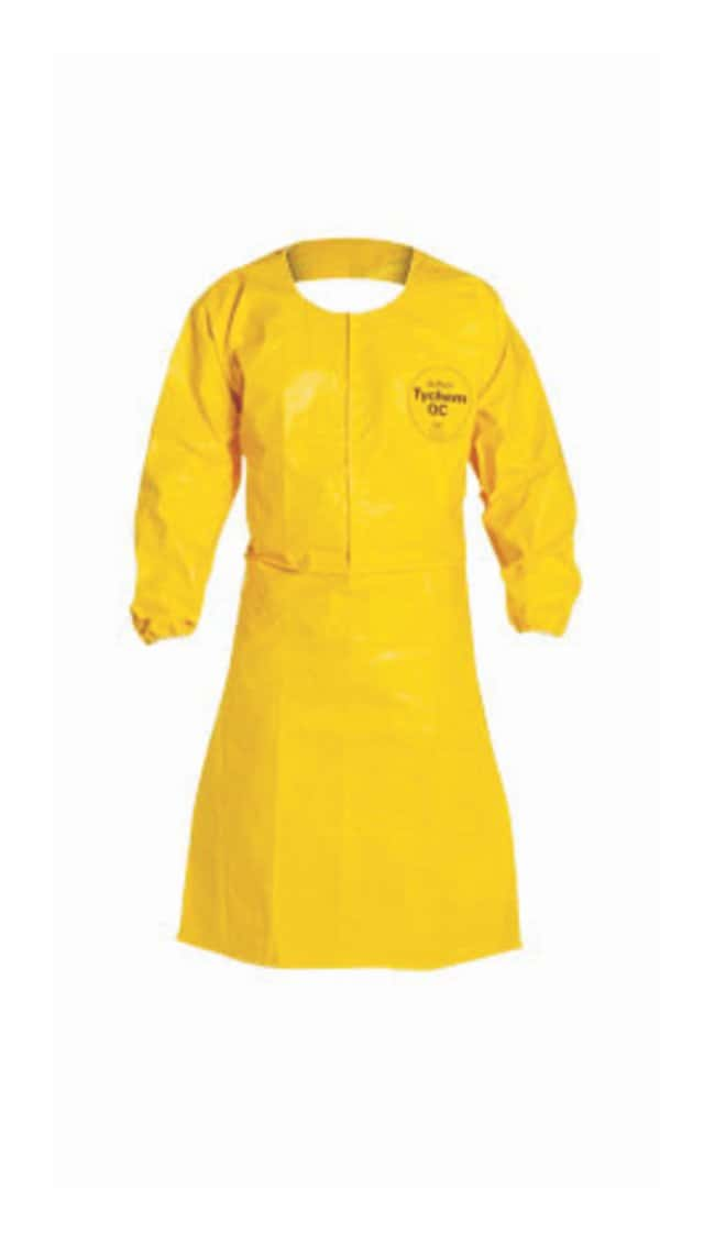 DuPont DuPont™ Tychem™ QC Sleeved Apron 4X-Large; Chest width: 29.5 in.:Gloves,