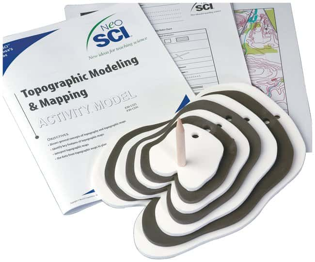 Topographic Modeling and Mapping :Teaching Supplies:Earth and Space