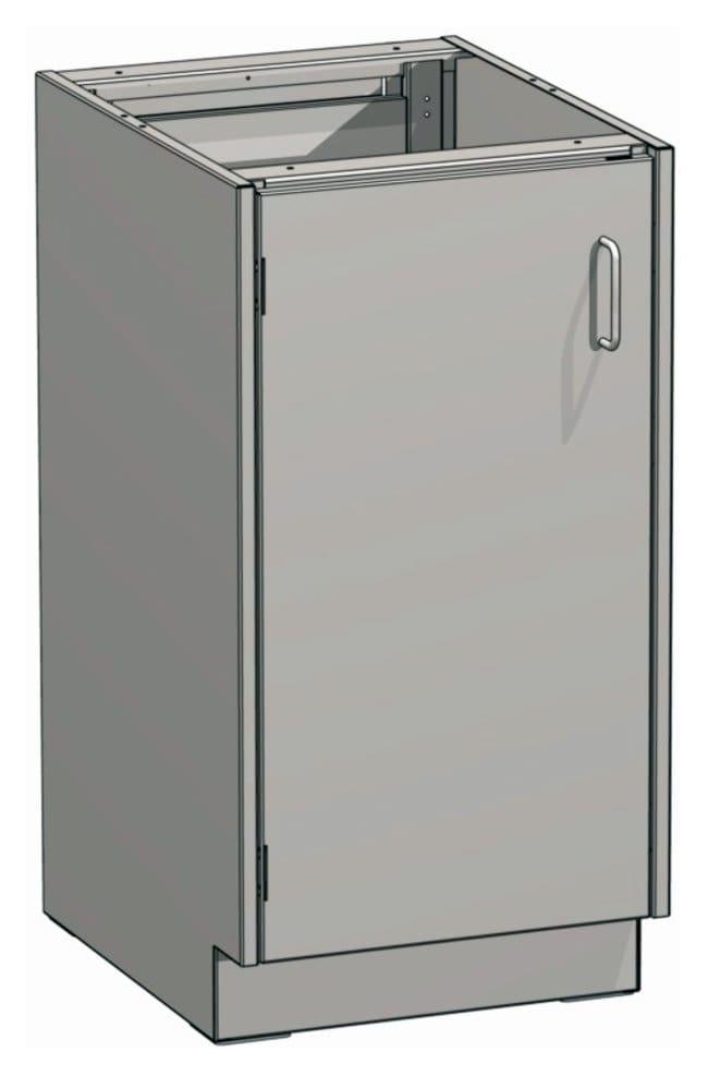 Mott ManufacturingSteel Casework Standing Height Base Cabinet, Full Door Units