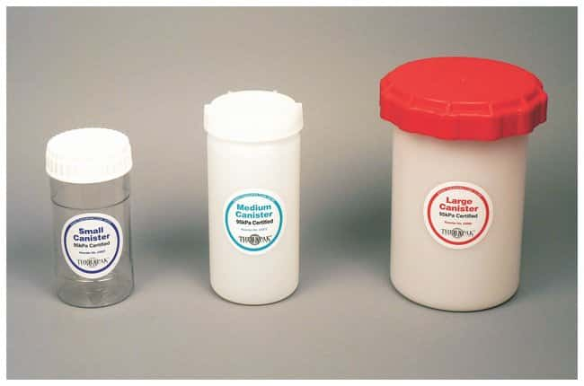 Therapak 95kPa Compliant Canisters:Racks, Boxes, Labeling and Tape:Mailing