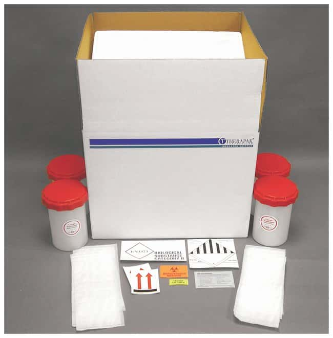 Therapak Frozen Biological Substance Category B Shipping Systems:Racks,