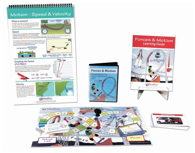 NewPath Learning Forces and Motion Curriculum Learning Module  For Grades