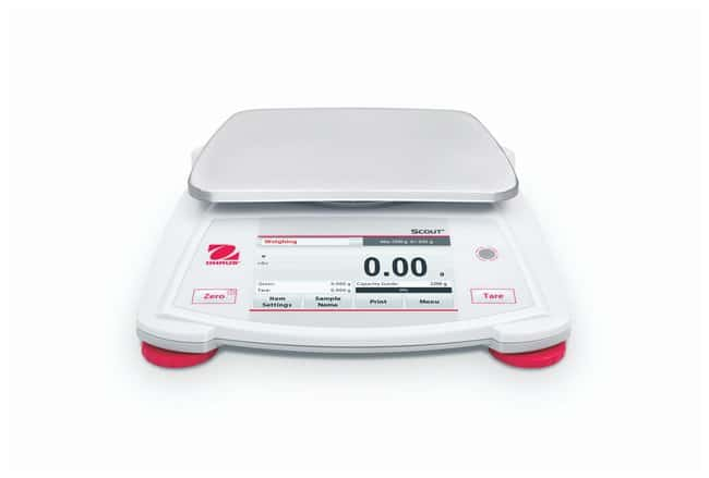 OHAUS Scout STX Portable Balances with Touchscreen Display  STX1202; Capac.: