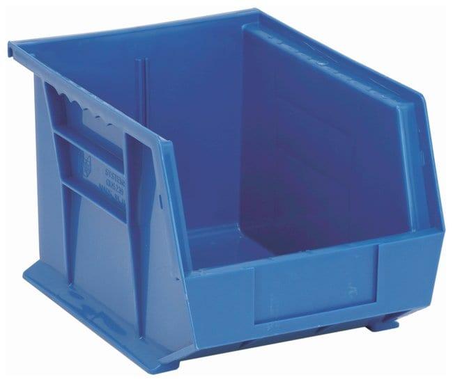 FisherbrandUltra Stack and Hang Bins Blue; L x W x H: 27.3 x 20.9 x 17.7cm:Facility