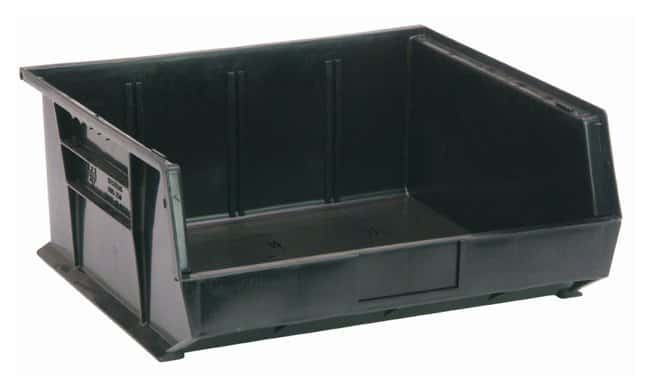 Fisherbrand Ultra Stack and Hang Bins  Black; L x W x H: 37.4 x 41.9 x