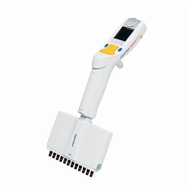 Eppendorf™Xplorer™ plus Electronic Pipettes 12-channel; 15 to 300μL; Orange button Eppendorf™Xplorer™ plus Electronic Pipettes