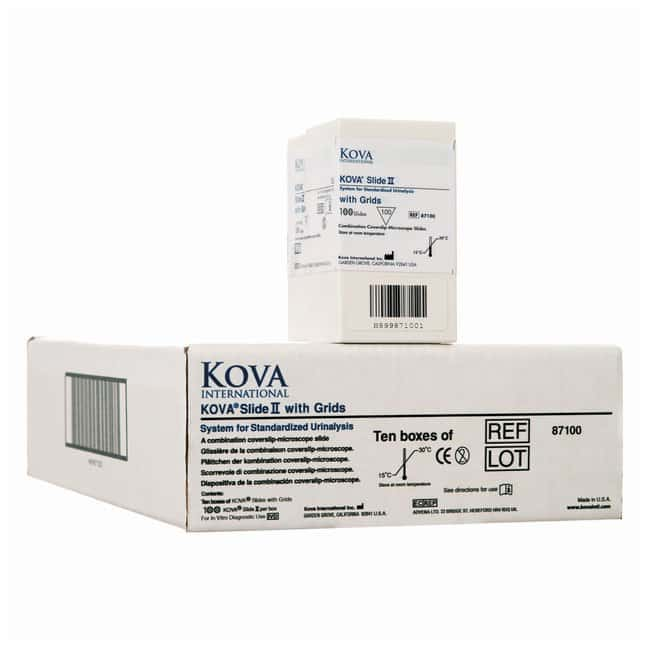 KOVA Glasstic Slide II :Diagnostic Tests and Clinical Products:Diagnostic