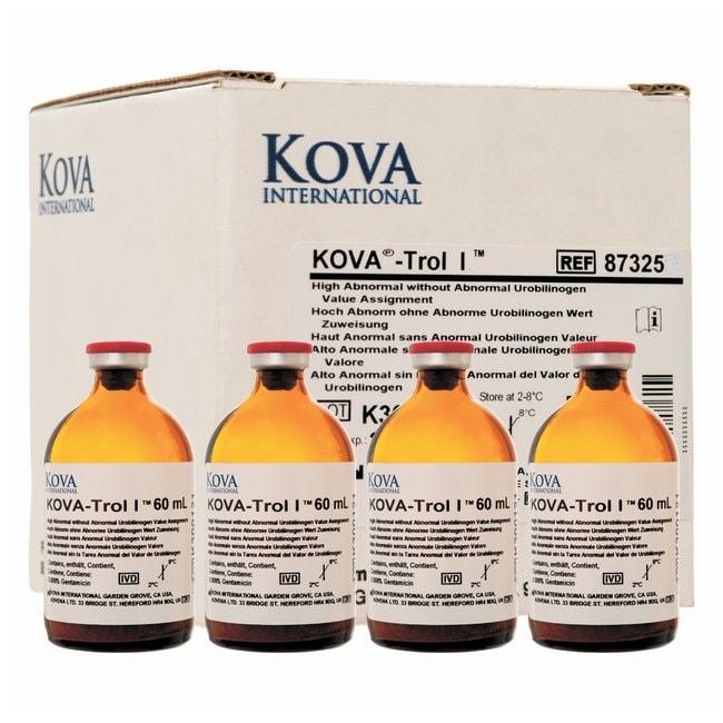 KOVAKOVA-Trol I Urine Dipstick Control, high abnormal, no urobilinogen:Diagnostic