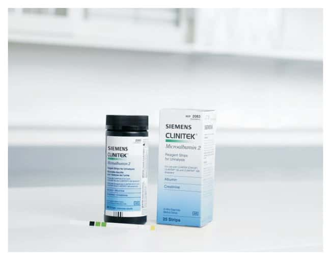 Siemens Healthineers Clinitek Microalbumin 2 Reagent Strips - Diagnostic  Tests and Clinical Products, Diagnostic Tests and Controls