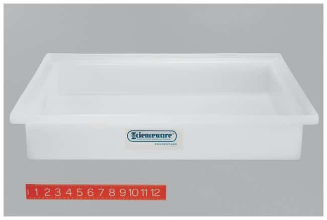 Bel-Art SP Scienceware General Purpose Trays Without Faucets Dimensions:
