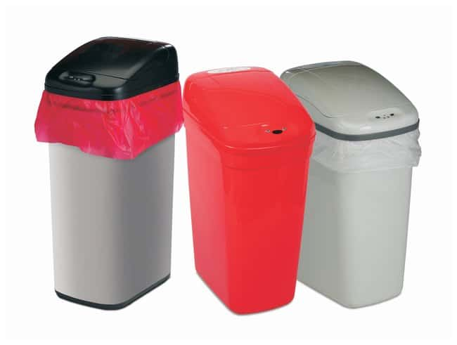 Bel-Art Touch Free Automatic Waste Cans:Gloves, Glasses and Safety:Hazardous