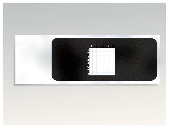 Ruled Microscope Slides  5mm grid:Teaching Supplies