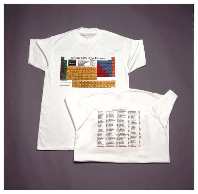 Periodic Table T-Shirt :Teaching Supplies:Classroom Safety