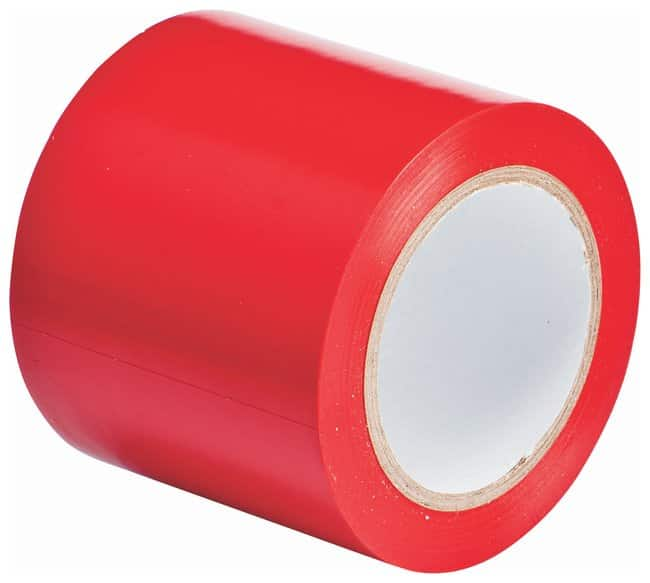 Brady Vinyl Aisle Marking Tapes Color: Red; Size: 10.1cm x 33m (4 in. x