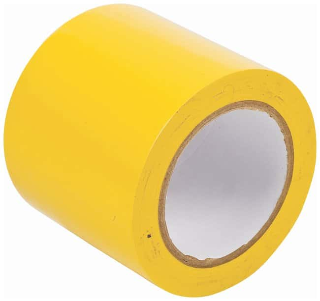 Brady Vinyl Aisle Marking Tapes Color: Yellow; Size: 10.1cm x 33m (4 in.
