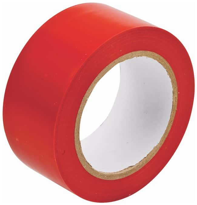 Brady Vinyl Aisle Marking Tapes Color: Red; Size: 5.08cm x 33m (2 in. x
