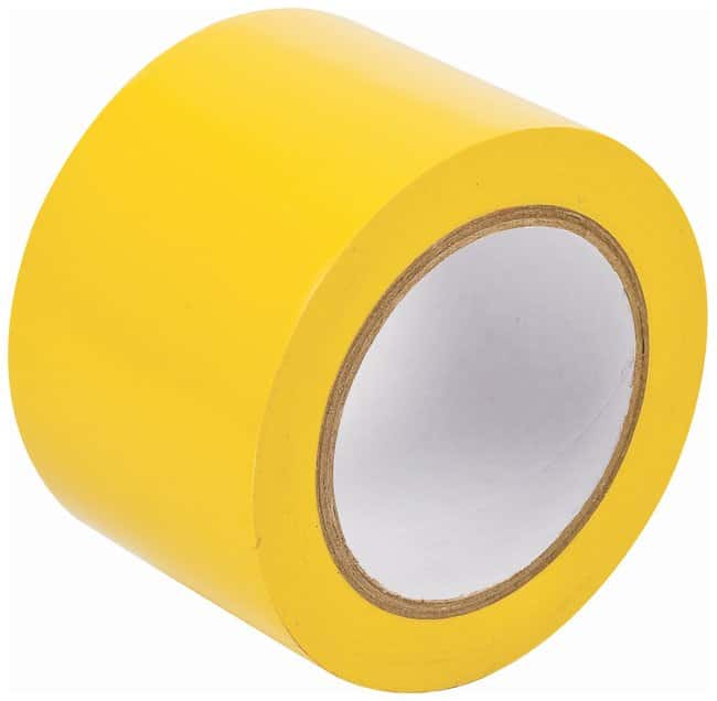 Brady Vinyl Aisle Marking Tapes Color: Yellow; Size: 7.62cm x 33m (3 in.