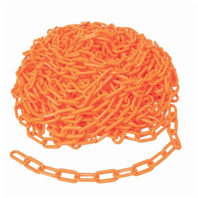 Brady Bradylink Warning Chains Link Size: 5.08cm (2 in.); Color: Orange:Gloves,