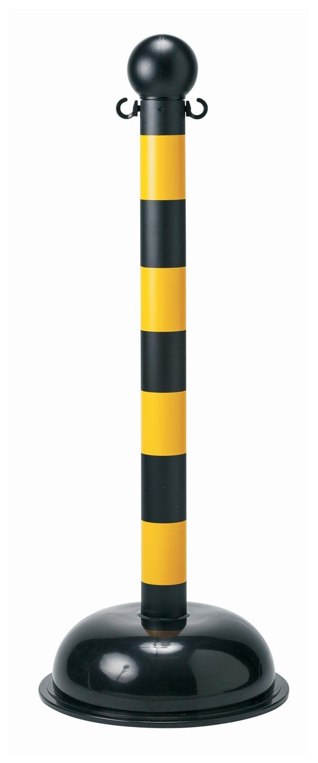 Brady Bradylink Striped Warning Posts Non reflective; Large; 104.1cm (41