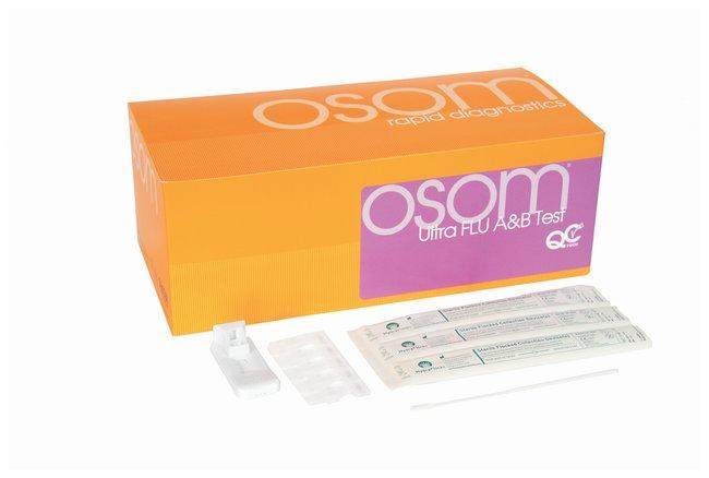 Sekisui Diagnostics OSOM Ultra Flu A and B Rapid Test OSOM Ultra Flu A