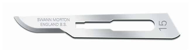 Cincinnati Surgical Swann Morton Sterile Carbon Steel Blades Size #15:Histology