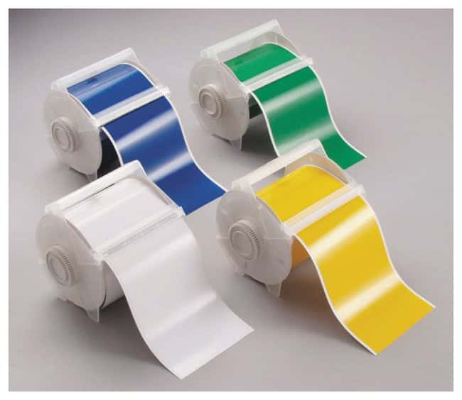 Brady™ GlobalMark™4in.W × 100ft.L Polyester Tapes