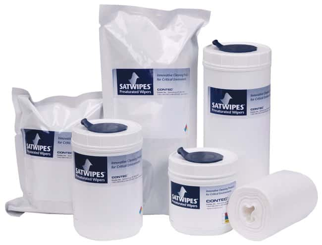 Contec SATWipes Presaturated Wipes Saturated with 100% Isopropyl Alcohol;